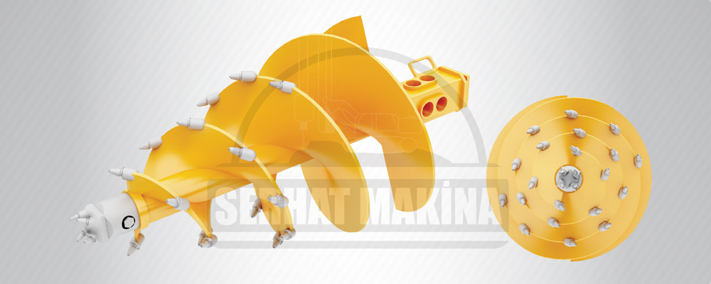 Conical Heavy Duty Rock Auger